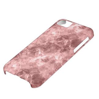 Burgundy Crumpled Texture iPhone 5C Case