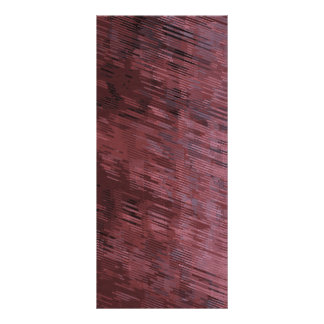 Burgundy Rain Personalised Rack Card