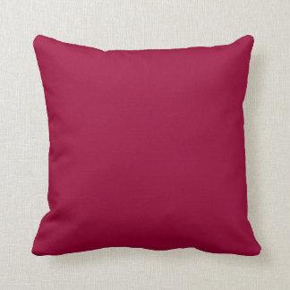 burgundy  red pillow