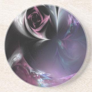 Burgundy Rose Coaster