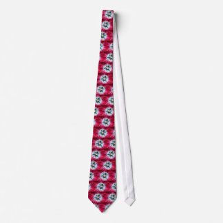 Burgundy Tulip centre Tie