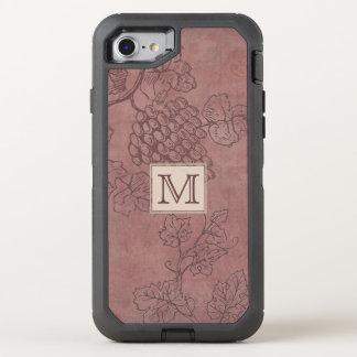 Burgundy Wine OtterBox Defender iPhone 8/7 Case