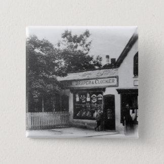 Burham, Kent, c.1909 15 Cm Square Badge