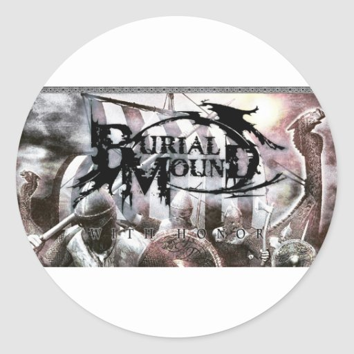 Burial Mound IPhone Case Stickers