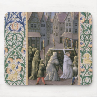 Burial procession mouse mat