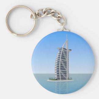 Burj Al Arab Hotel Dubai 3D Model Keychains
