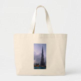 Burj Khalifa 2 Large Tote Bag