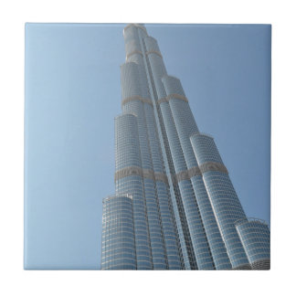 Burj Khalifa 3 Small Square Tile