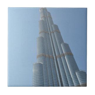Burj Khalifa 3 Small Square Tile