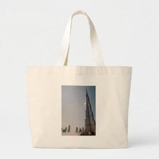 Burj Khalifa 4 Large Tote Bag