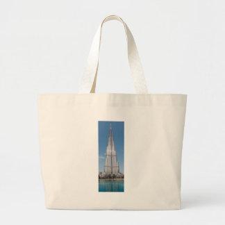 Burj Khalifa 5 Jumbo Tote Bag