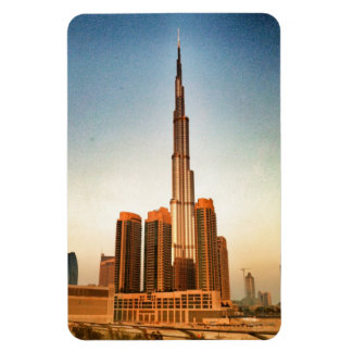 Burj Khalifa Dubai Rectangular Photo Magnet