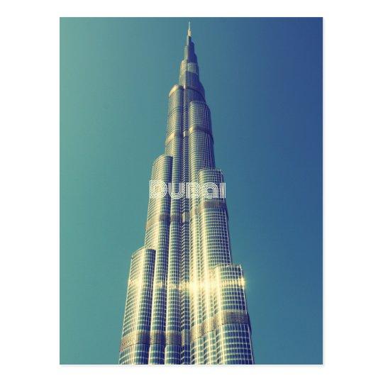 Burj Khalifa, Dubai Postcard