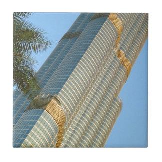 Burj Khalifa Dubai Small Square Tile