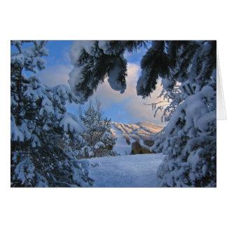 Burke Mountain Card