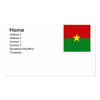 Burkina Faso Business Cards