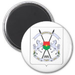 Burkina Faso Coat of arms BF 6 Cm Round Magnet