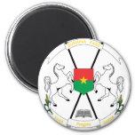 Burkina Faso Coat Of Arms Fridge Magnet