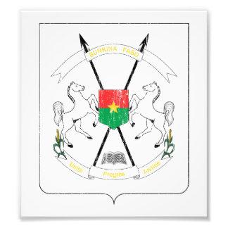 Burkina Faso Coat Of Arms Photo Art