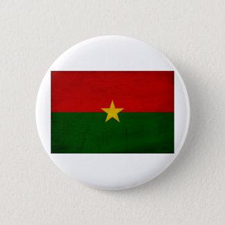Burkina Faso Flag 6 Cm Round Badge