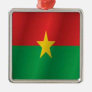 Burkina Faso flag Christmas Ornament