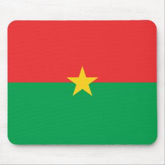 Burkina Faso Flag Mousepad