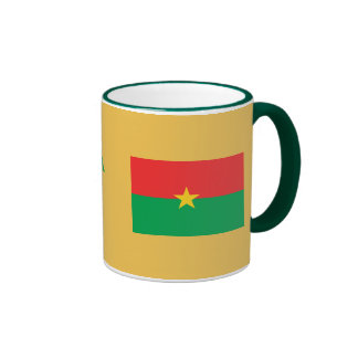 Burkina Faso Flag Mug Burkina Faso Tasse de drapea