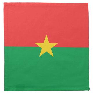 Burkina Faso Flag Napkin