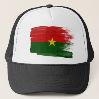 Burkina Faso Flag Trucker Hat