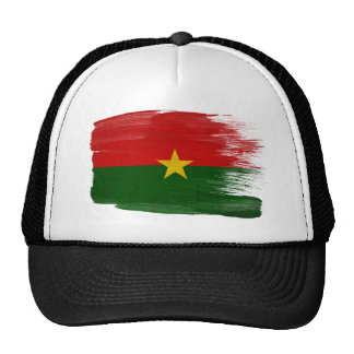 Burkina Faso Flag Trucker Hat