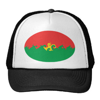 Burkina Faso Gnarly Flag Hat
