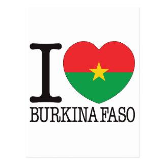Burkina Faso Love v2 Post Cards