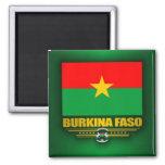 Burkina Faso Pride Refrigerator Magnets