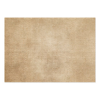 Burlap Background Business Cards