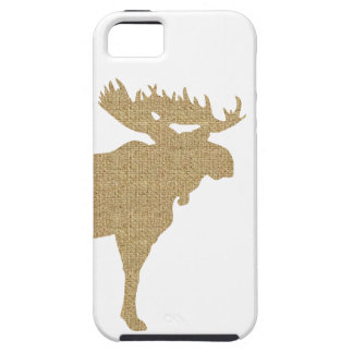 Burlap Moose Case For The iPhone 5