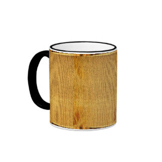 Burlap texture Mug