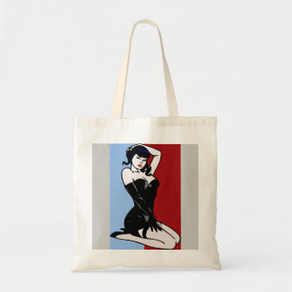 BURLESQUE DANCER Tote Bag