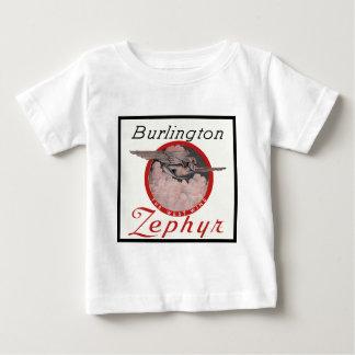 Burlington Zephyr Train Baby T-Shirt