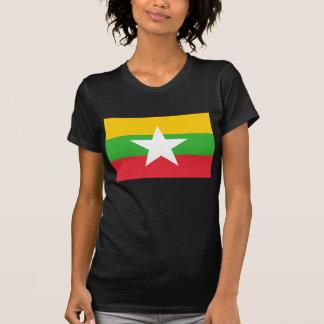 Burma Flag; Myanmar T-Shirt