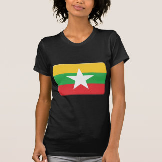 Burma Flag PERSONALIZE T-Shirt