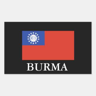 BURMA (Flag) Sticker1 Rectangular Sticker
