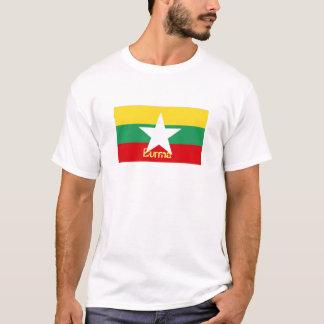 Burma Myanmar flag souvenir t-shirt