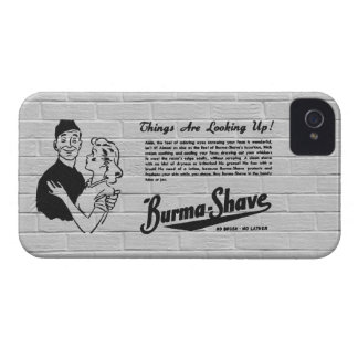 Burma Shave Adoring Eyes iPhone 4 Cases