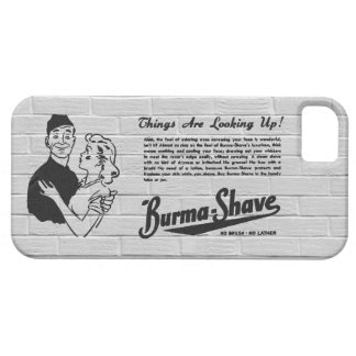 Burma Shave Adoring Eyes iPhone 5 Cover