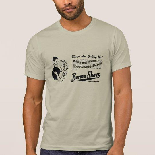 Burma Shave Adoring Eyes T-Shirt