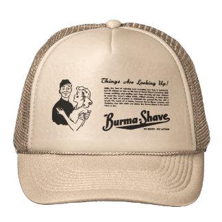 Burma Shave Adoring Eyes Trucker Hat