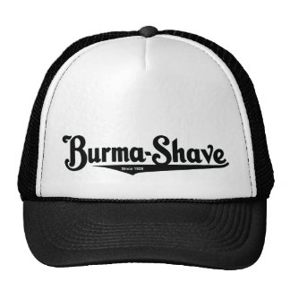 Burma-Shave shaving cream Cap