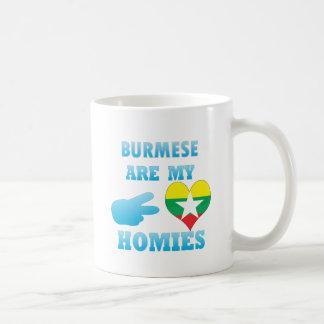 Burmas are my Homies Coffee Mugs