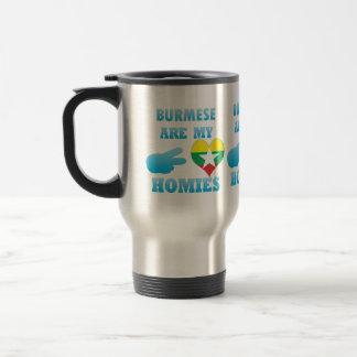 Burmas are my Homies Mugs