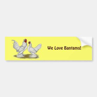 Burmese Bantams Car Bumper Sticker